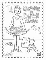 Ballet Coloring Dance Class Printable Tap Ballerina Dancer Sleeping Sheets Dancing Kinderen Teach Knutselen Dancers Colouring Recital Crafts Infantil Moms sketch template