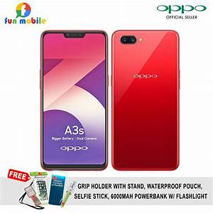 Oppo F3 Plus Smartphone Gold 64gb4gb Free 3 Item
