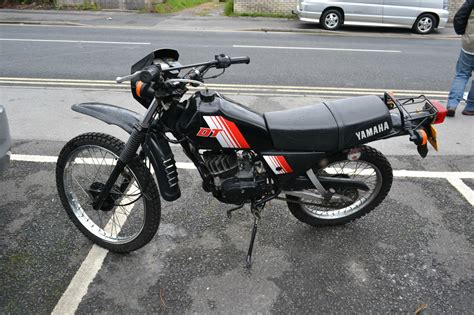 yamaha dt 80 mx 1982 yamaha dt 80 mx black stored fantastic commuter bike