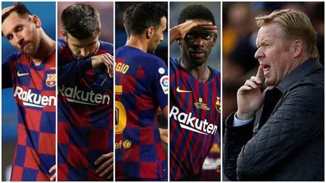 Ronald koeman has called up 23 players for saturday's big game. Koeman ya diseñó su Barça: las pistas que dio sobre Messi ...