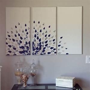 Diy wall craft ideas canvas art