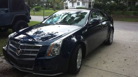 purchase   cadillac cts sedan   fun  drive