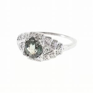natural alexandrite diamond platinum engagement ring at With natural alexandrite wedding rings