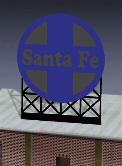 Santa Fe Miller Engineering Billboard Scale Ho