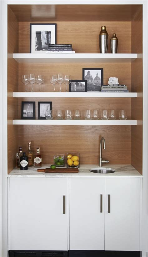 Home Bar Shelves by Modern Bar Stained Wood Barn Calcutta Marble Modern
