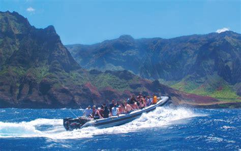 Kauai Boat Tours Poipu by Scenic Boat Tours In Kauai Aloha