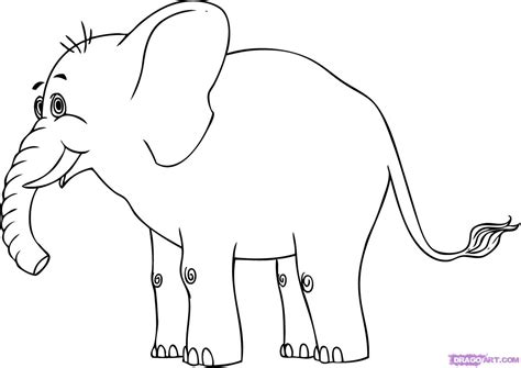 draw elephant tutorial google search drawing pinterest