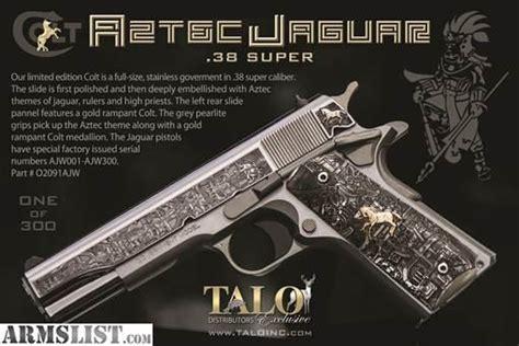 ARMSLIST - For Sale: Colt Aztec Jaguar 1911 38 Super New ...