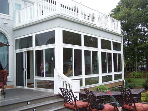 enclosed porches sunrooms vinyl patio enclosures