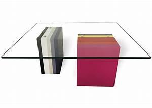 Verre Sur Mesure Pour Table : table basse en couleurs pied g multi mobilier les pieds ~ Dailycaller-alerts.com Idées de Décoration