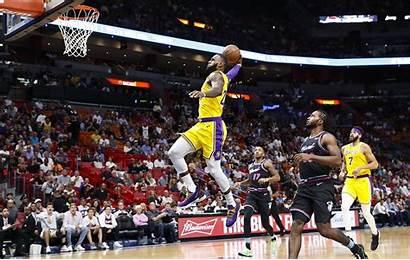 Lakers James Heat Lebron Miami Basketball Nba