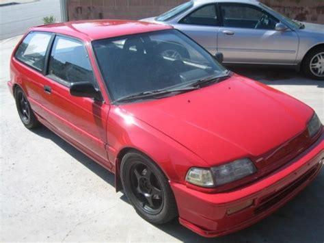 Fs: 89 Honda Civic Dx Hatchback