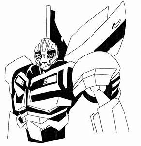 Bumblebee Transformer Coloring Pages — ALLMADECINE ...