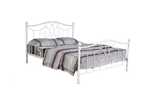 White Headboards King Size Beds by Metal Bed Frames Double Bed Frames Ideas