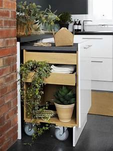 Füße Für Arbeitsplatte : ausziehbare arbeitsplatte inspiration f r kleine k chen ~ Michelbontemps.com Haus und Dekorationen