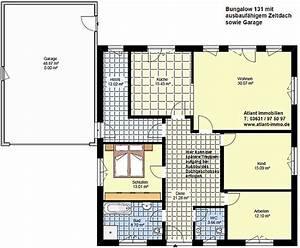 Grundriss Bungalow Mit Integrierter Garage : bungalow 131 zeltdach garage einfamilienhaus neubau massivbau grundriss stein auf stein ~ A.2002-acura-tl-radio.info Haus und Dekorationen