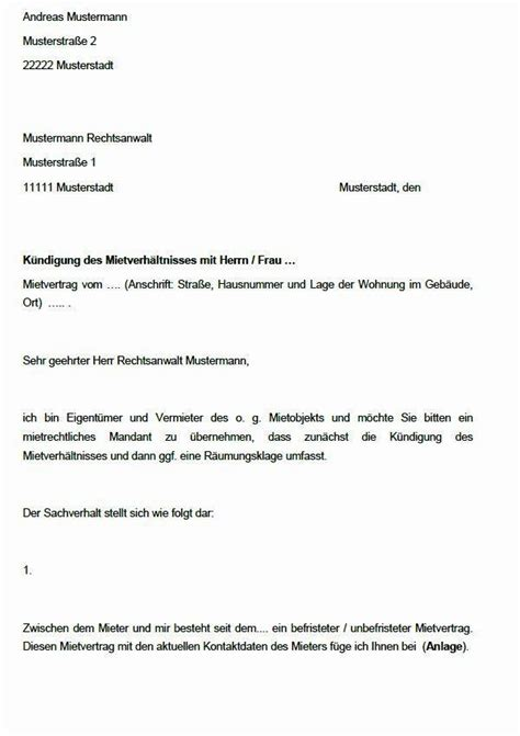 kündigung mietwohnung vorlage 20 k 252 ndigung mietwohnung vorlage soleatablao