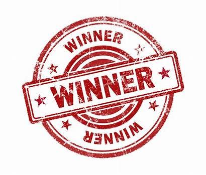Winner Stamp Background Win Winners Award Lottery