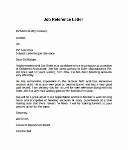 example referral letter for employment docoments ojazlink With job reference letter template free