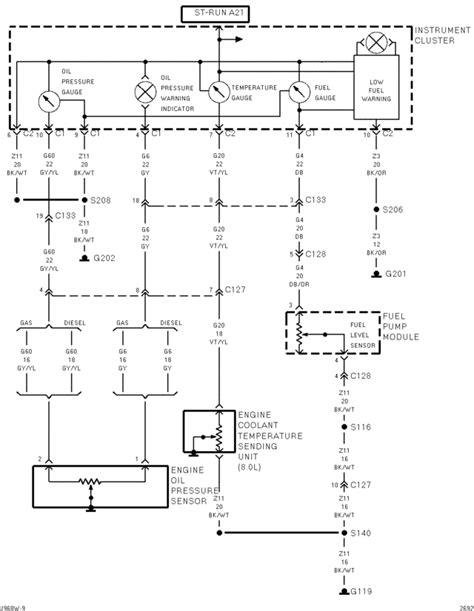 Dodge Ram 1500 Fuel Wiring Diagram by 2001 Dodge Ram Trailer Brake Wiring Diagram Technical