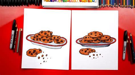 draw  plate  cookies  santa art  kids hub