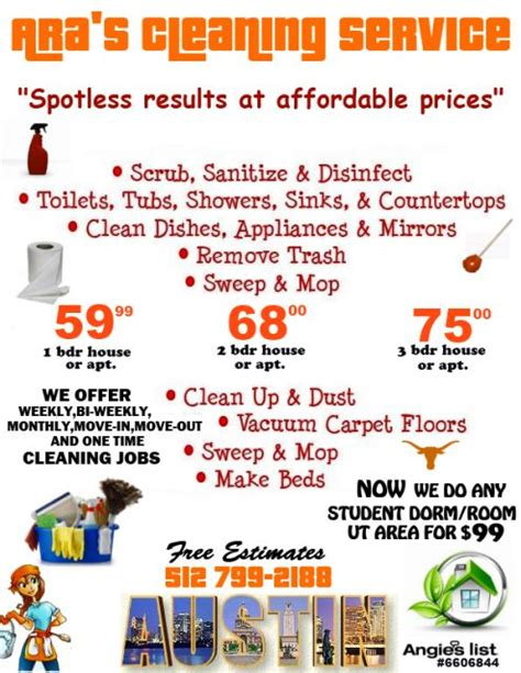 house cleaning rates view source image business house cleaning prices