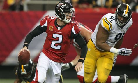 falcons  steelers game information time tv schedule