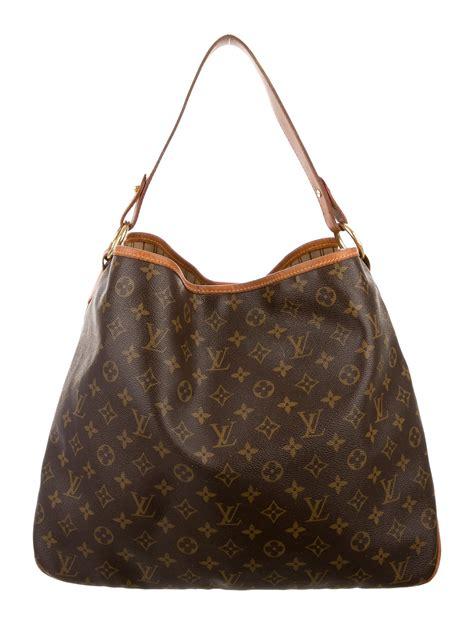 louis vuitton monogram delightful mm handbags lou  realreal