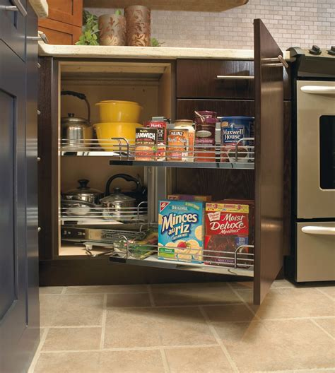 kitchen corner cabinet storage solutions we ve got you cornered with these cabinet storage 8244