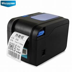 usd 20589 dimension financial barcode printer label With clothing price tag printer