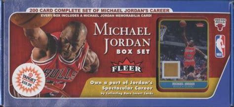 fleer basketball michael jordan factory set ud