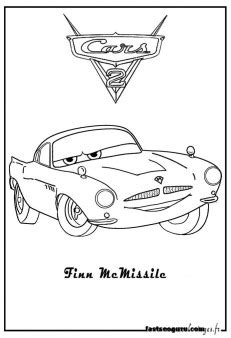 coloring pages print  finn mcmissile car  printable coloring pages  kids