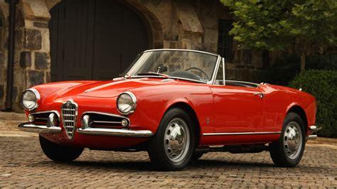 1956 Alfa Romeo Giulietta Spider, Classic Alfa Romeo