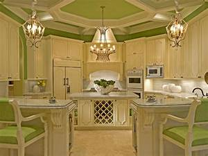 Colorful kitchens kitchen ideas design with cabinets for Kitchen colors with white cabinets with wall art personalized
