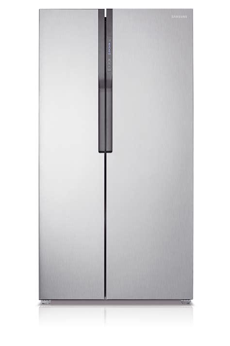 samsung side by side side by side 584l refrigerator srs583nls rs552nruasl samsung nz
