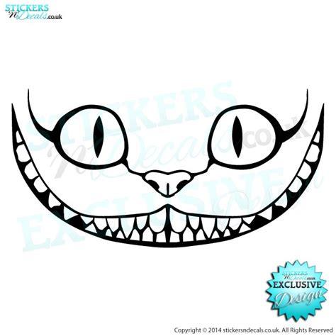 Cheshire Cat Car Sticker  Decal  Vinyl Graphics