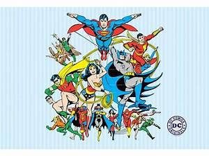 Poster Xxl Collage : dc comics collage fotobehang 232 x 158 cm multi ~ Orissabook.com Haus und Dekorationen