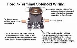 Starter Relay    Solenoid Wiring 86
