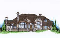 Luxury Style House Plans 3592 Square Foot Home 2 Story