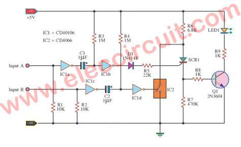 Off Scr Control Circuit With Logic Gate