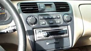 How To Replace Ac Control Assembly Honda Accord  U221a