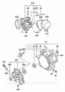 Robin  Subaru Ex300d52010 Parts Diagram For Crankcase