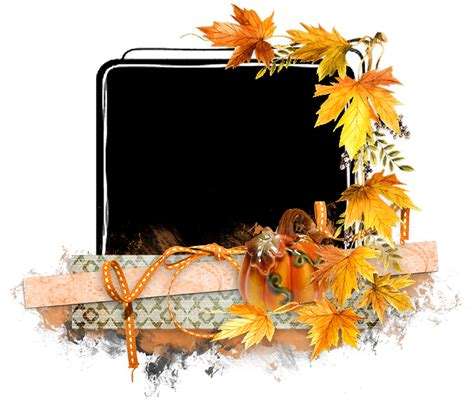 library  thanksgiving frame clip png files clipart art