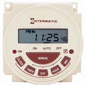 Intermatic Pb314e 240v 24 Hour Electronic Timer Mechanism