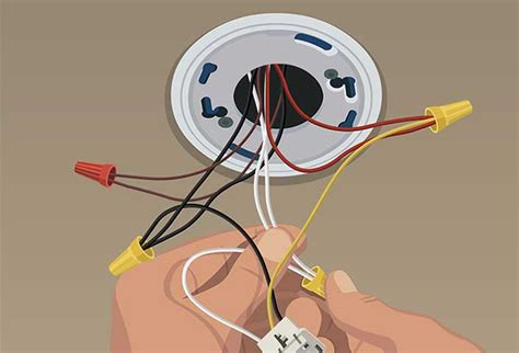Steps Install Hard Wired Smoke Alarms The