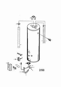 Kenmore 153334590 Gas Water Heater Parts