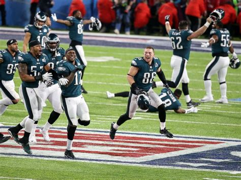 Philadelphia Eagles Top New England Patriots To Win First