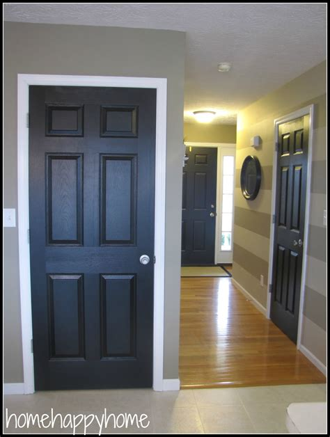 interior gates home home home black painted interior doors paint
