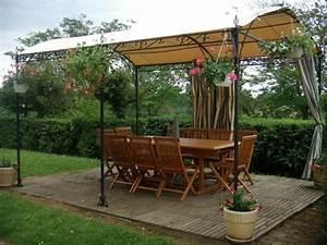pergola moderne jardin accueil design et mobilier With superior salon de jardin pour terrasse 8 deco maison feng shui