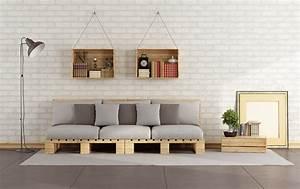 Fabriquer Un Canapé En Palette : fabriquer un meuble en palette ~ Voncanada.com Idées de Décoration